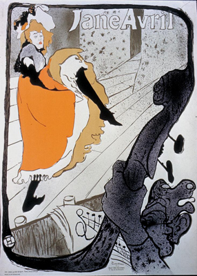 Henri de toulouse lautrec for Jardin de paris jane avril